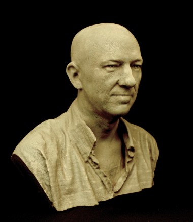 3d scanning portrait sculpture